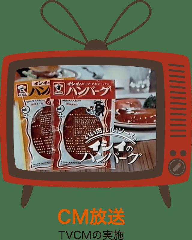CM放送 TVCMの実施